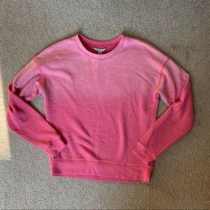 Pink Ombré Crew Neck